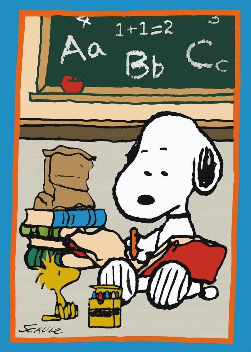 45+] Snoopy Back to School Wallpaper on WallpaperSafari.
