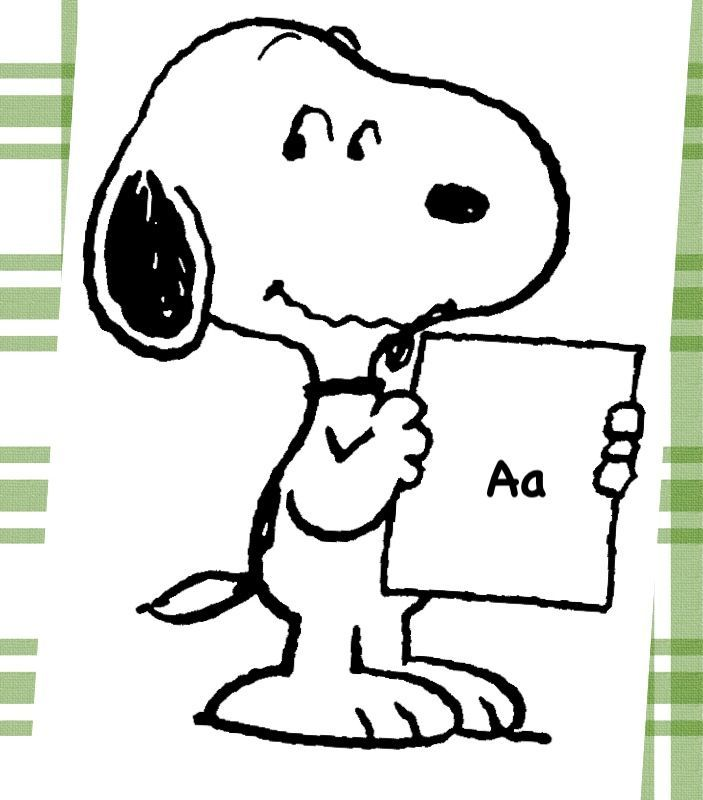Free Snoopy Black And White, Download Free Clip Art, Free.