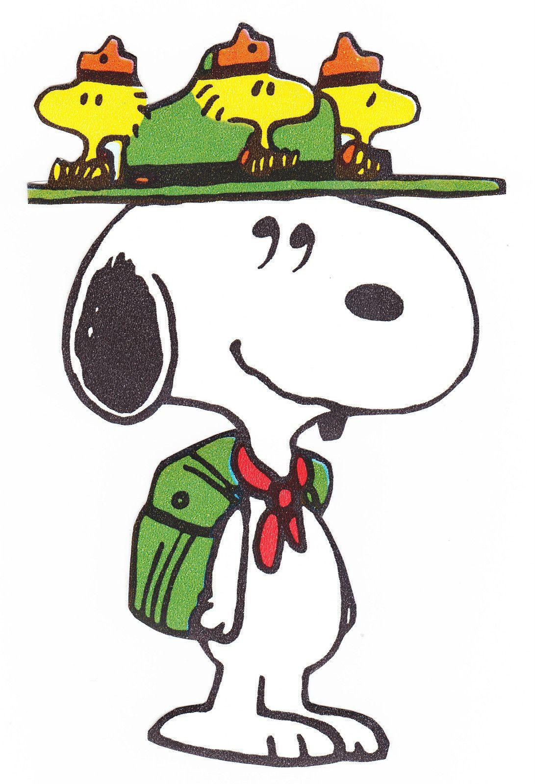 Woodstock & Snoopy.