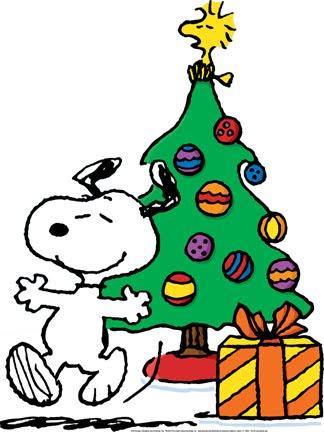 Charlie brown christmas snoopy christmas clip art 4.