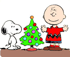 Christmas snoopy Clip Art.