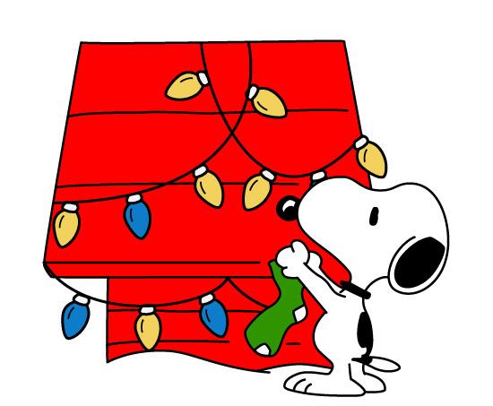 26+ Snoopy Christmas Clip Art.