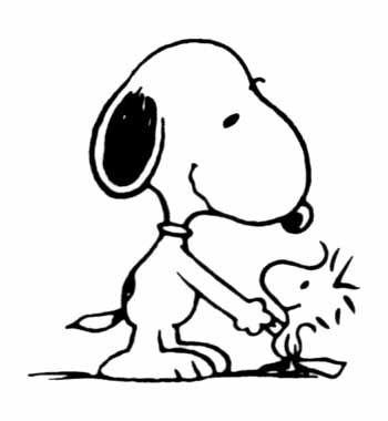 Free Snoopy Clip.