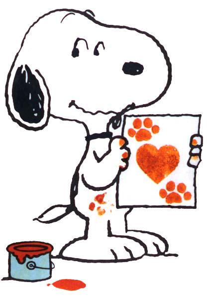 Snoopy Clip Art.