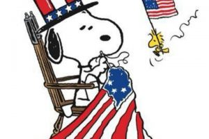 Snoopy 4th of july clipart 4 » Clipart Station.