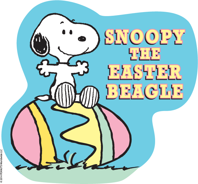 Celebrate Easter with Snoopy & the Peanuts Gang.