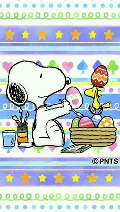 Happy Easter from the Easter Beagle.