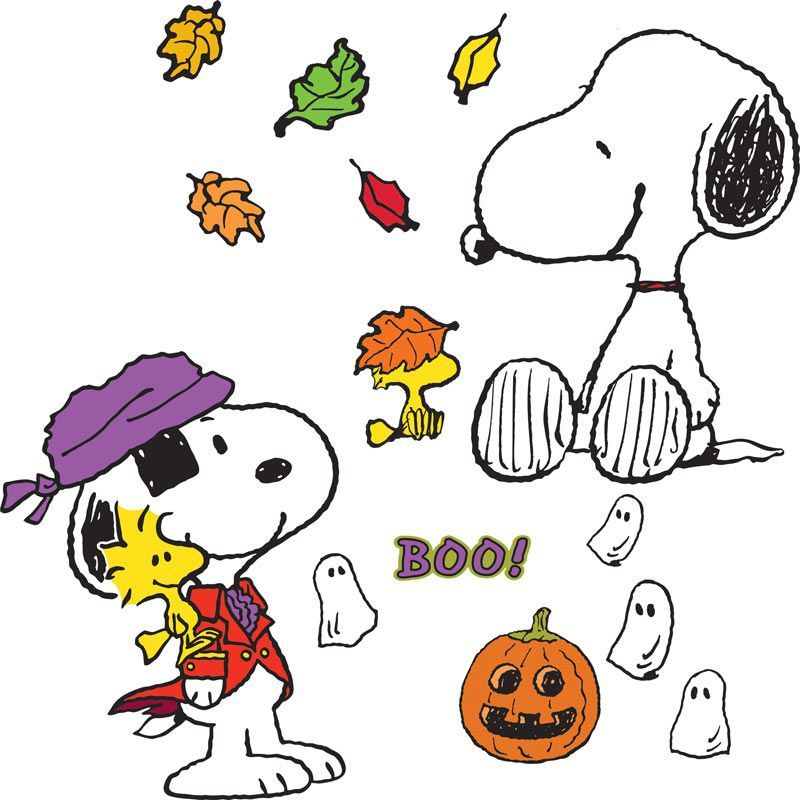 Snoopy Fall Clip Art Clipart.