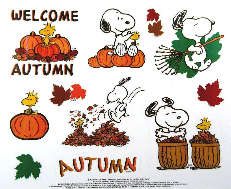 Peanuts Fall.