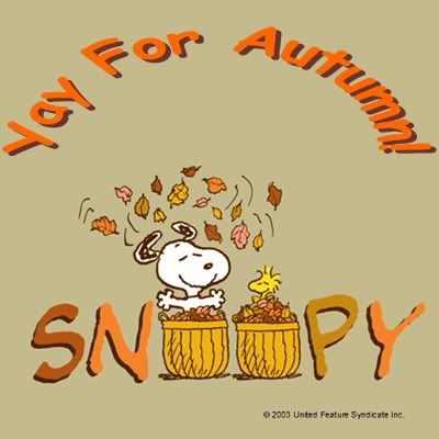 autumn snoopy photo: smiley This photo was uploaded by.