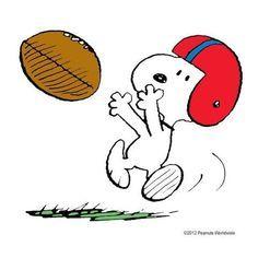Snoopy football clipart 1 » Clipart Portal.