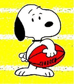 Snoopy football clipart 7 » Clipart Portal.