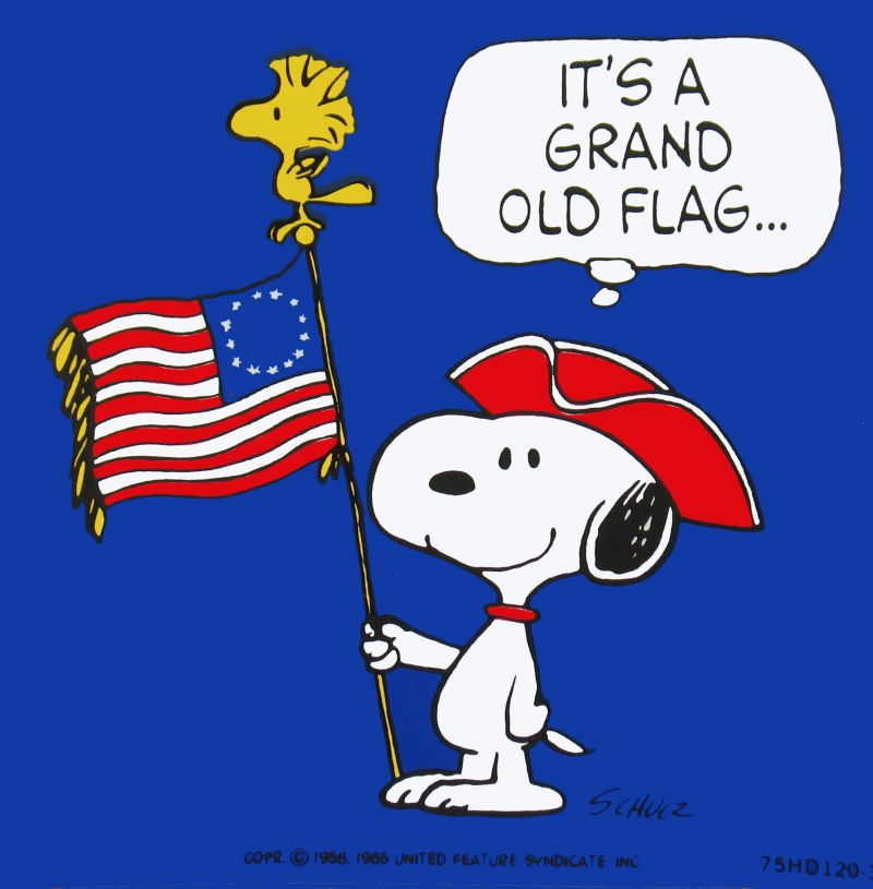 48+] Snoopy Fourth of July Wallpaper on WallpaperSafari.