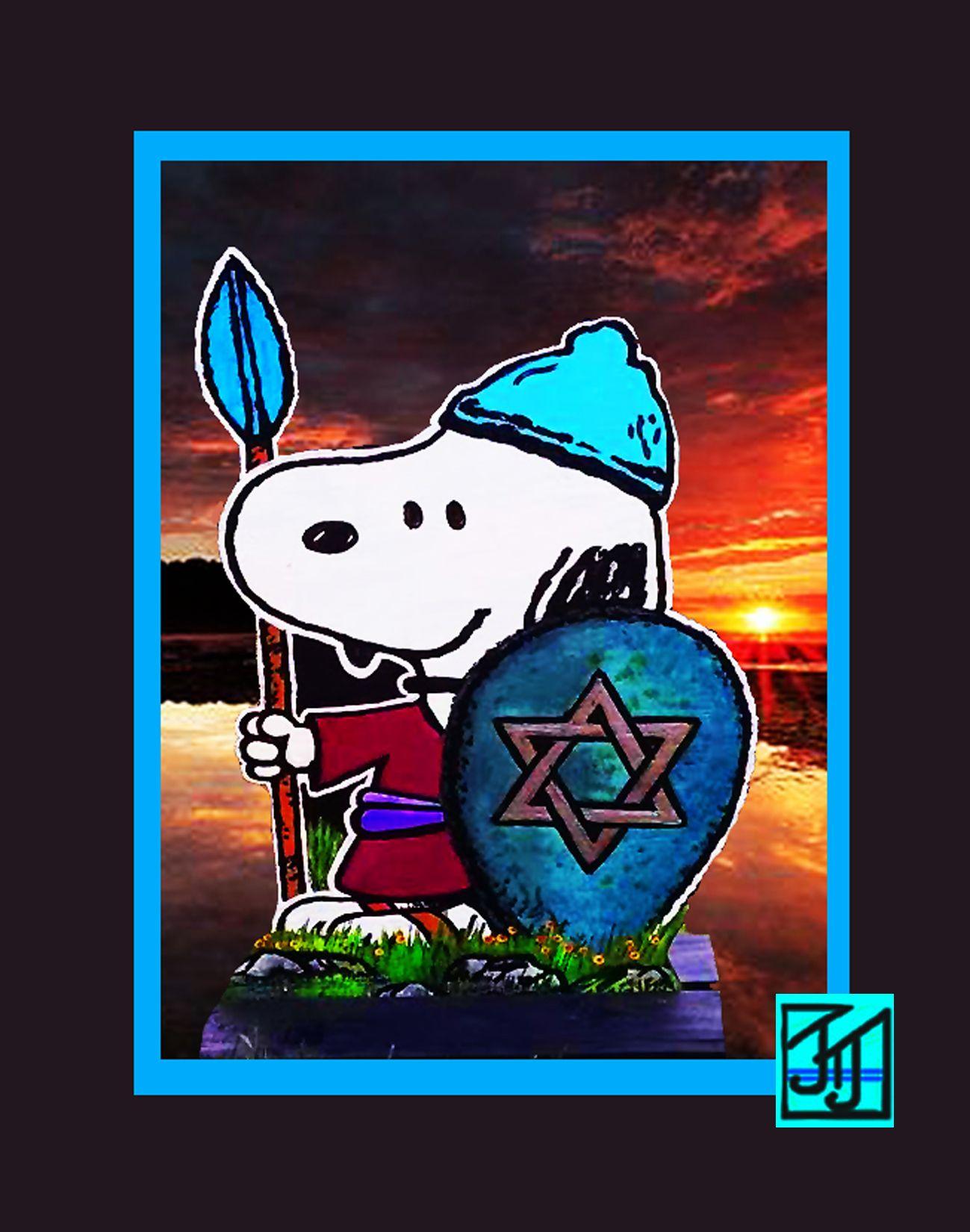 Jewish Snoopy.