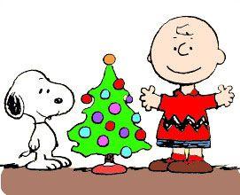 Free Christmas snoopy Clip.