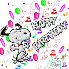 Happy Birthday Clip art Snoopy.