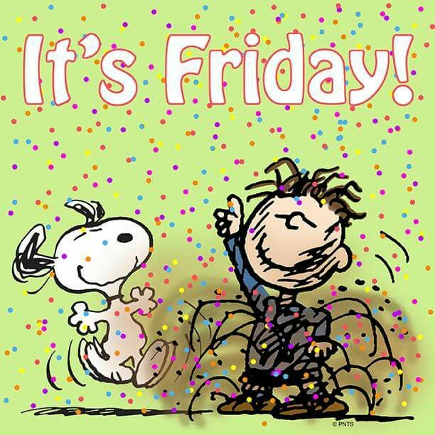 snoopy happy friday clipart - Clipground