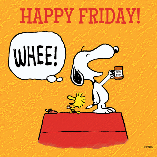 Happy Friday Snoopy Pictures, Photos, and Images for Facebook.