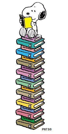 Read, Snoopy read!.