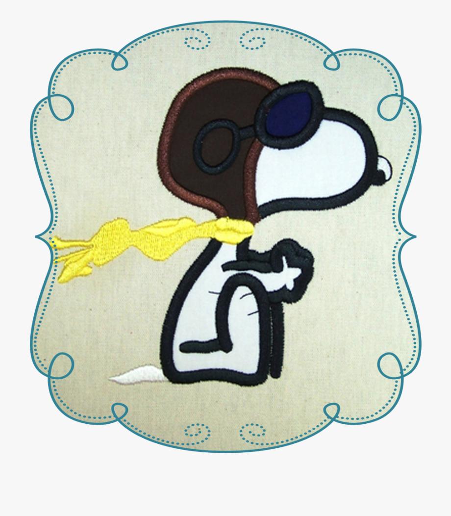 Snoopy Pilot Png.