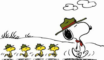 Take a Hike, Snoopy.