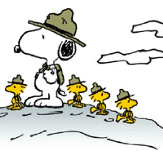 Scout Leader Snoopy.