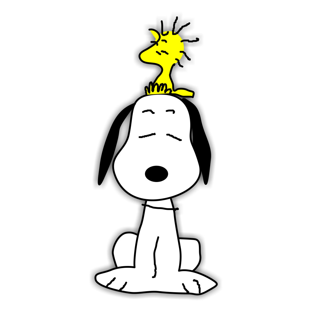 Snoopy Winter Clipart.