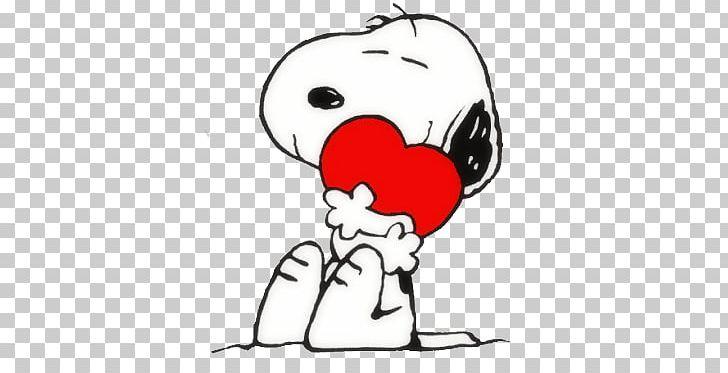 Baby Snoopy\'s Valentine Charlie Brown Woodstock Peanuts PNG.