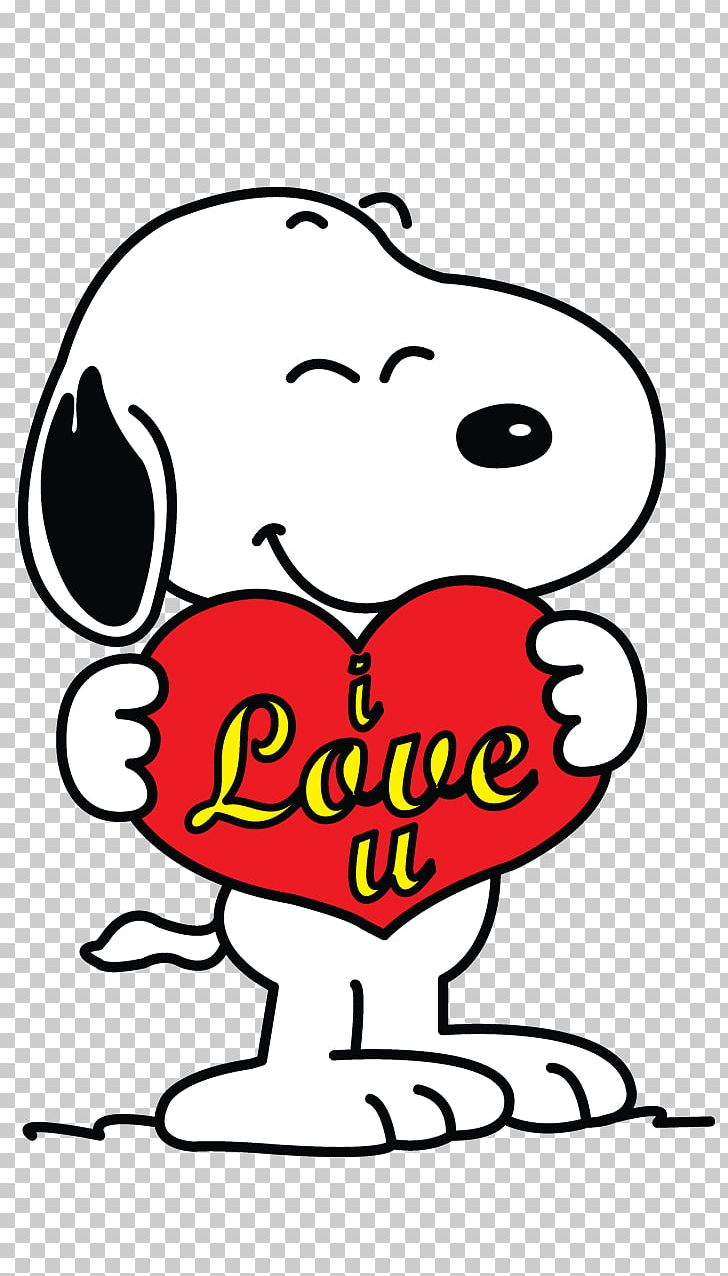 Snoopy Charlie Brown Woodstock Valentine\'s Day Drawing PNG.