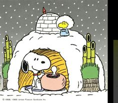 Snoopy/Peanuts Winter.