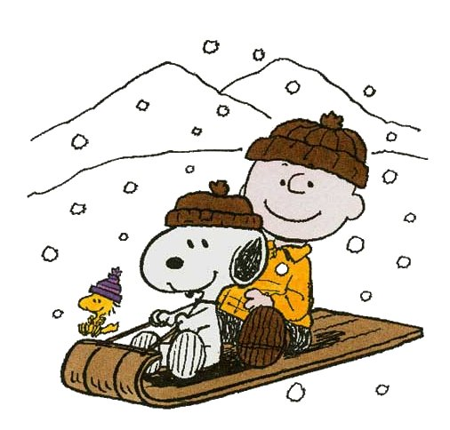 Snoopy Winter Clipart #1.