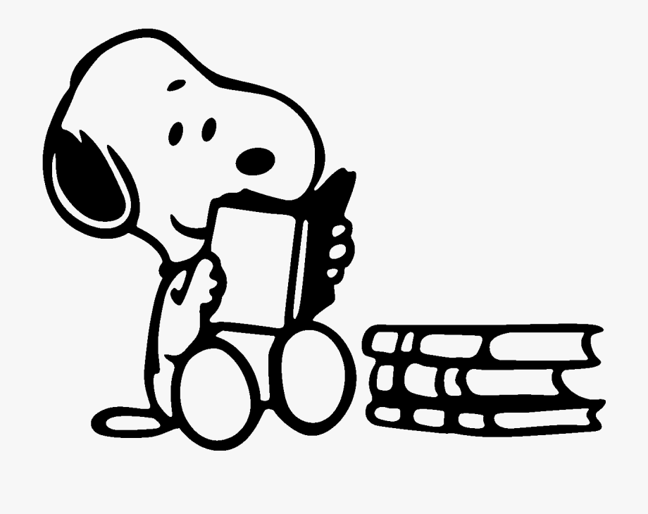 Snoopy Clipart Writing.