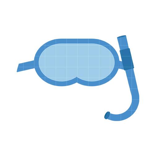 Snorkel Clipart.