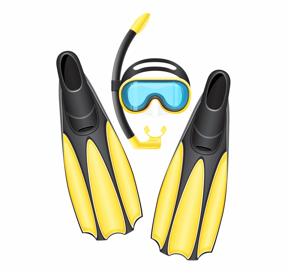 Diving clipart snorkeling mask, Diving snorkeling mask.