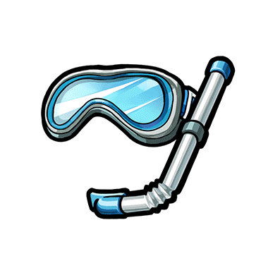 Download Free png Snorkel, diving mask PNG, Download PNG.