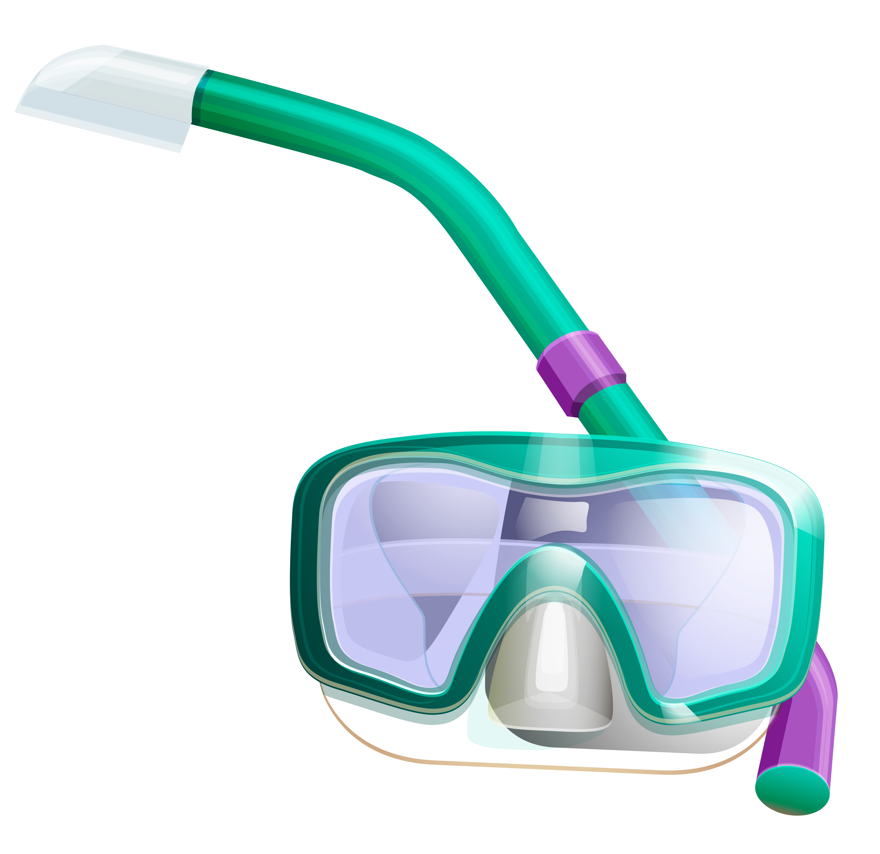 Snorkel Mask PNG Clipart.