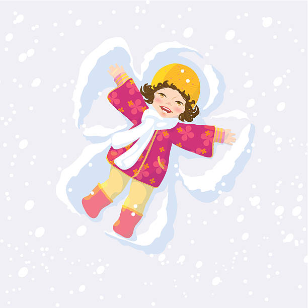Snow Angels Clipart.