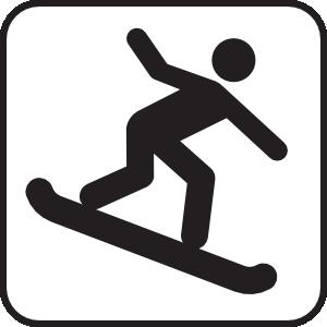 Snow Boarding White Clip Art at Clker.com.