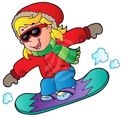 Snowboard Clipart.