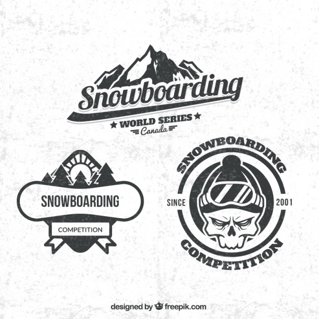 Snowboard Logo Vectors, Photos and PSD files.