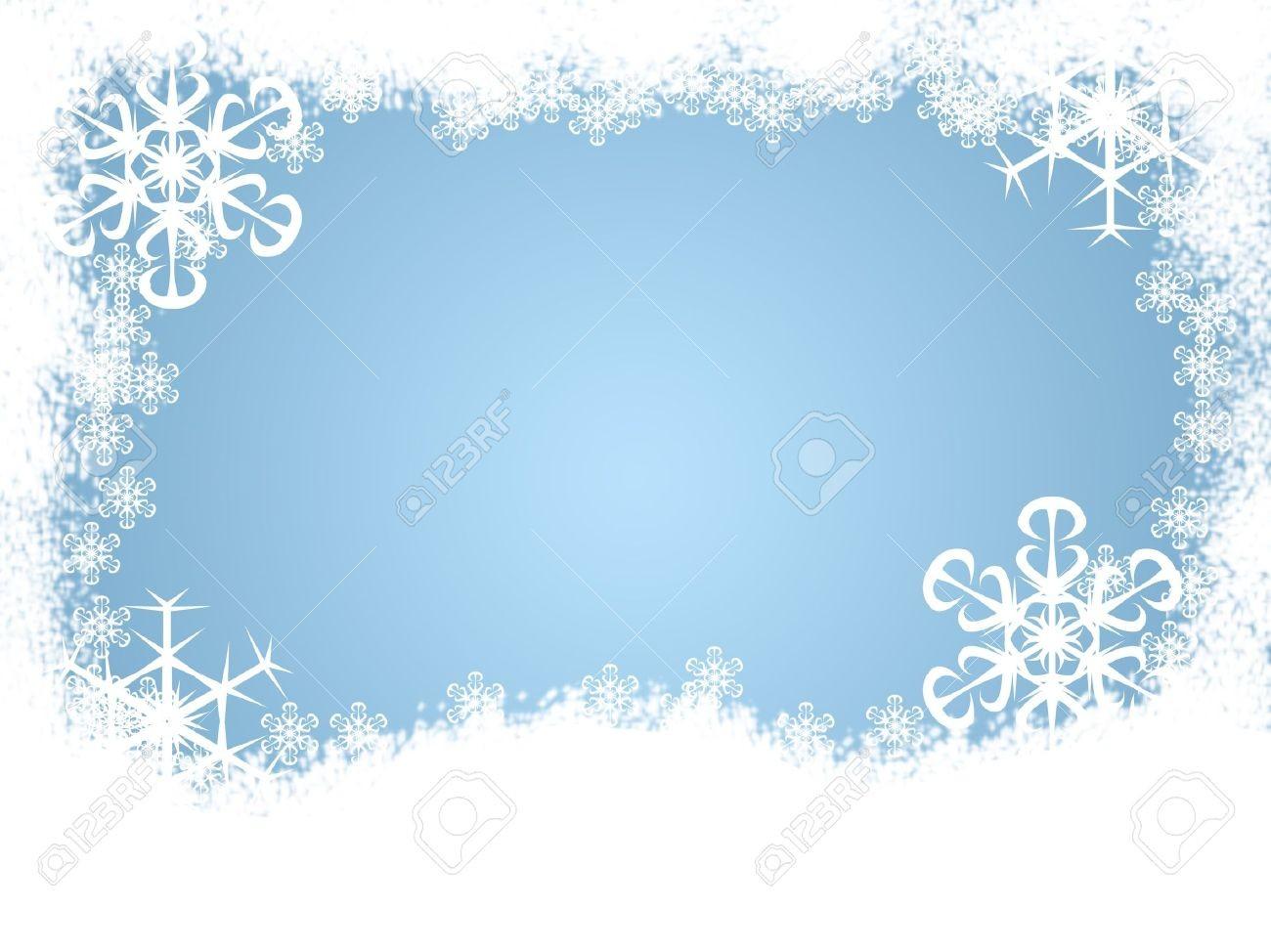 Winter Snow Borders Clipart 1 In Clip Art.