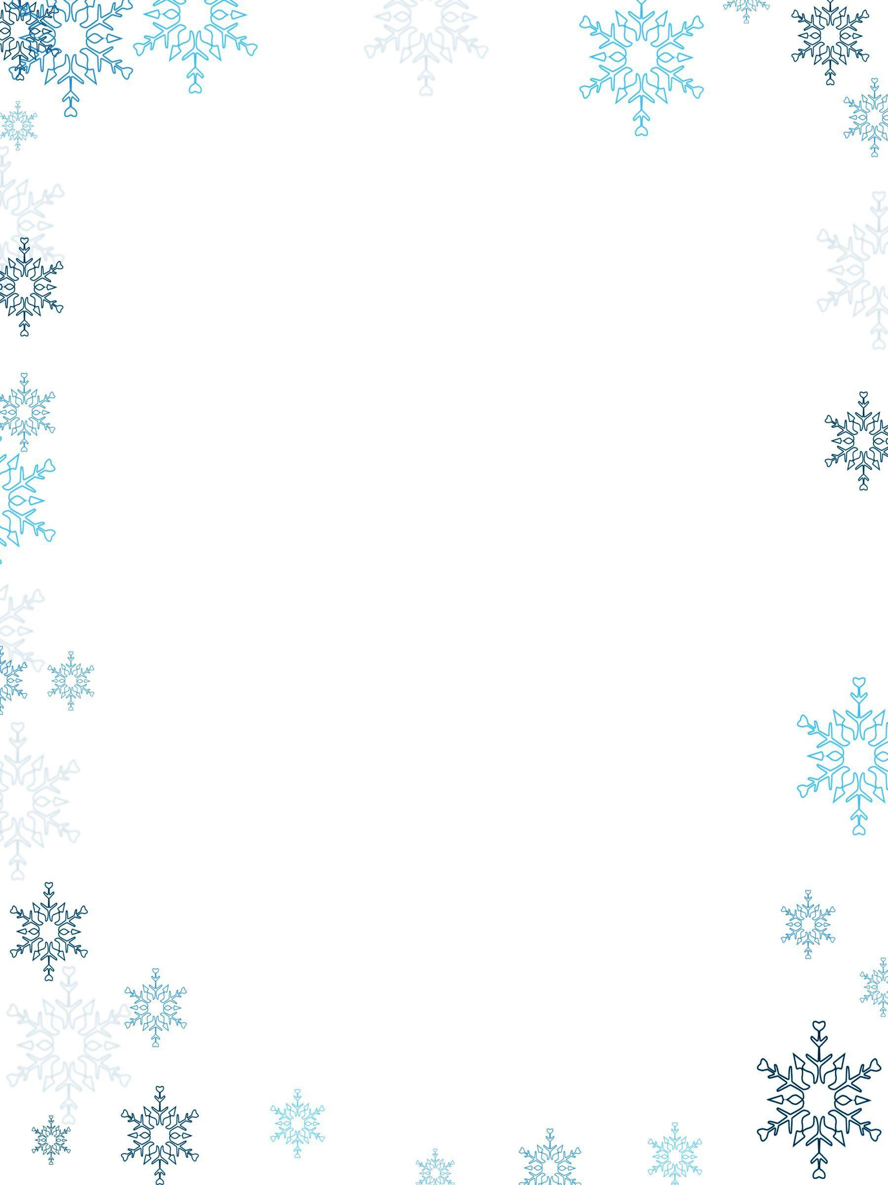 Snow borders clipart 7 » Clipart Portal.