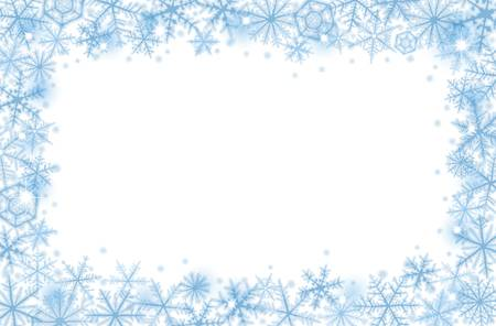 Snow Border Free Download Clip Art.