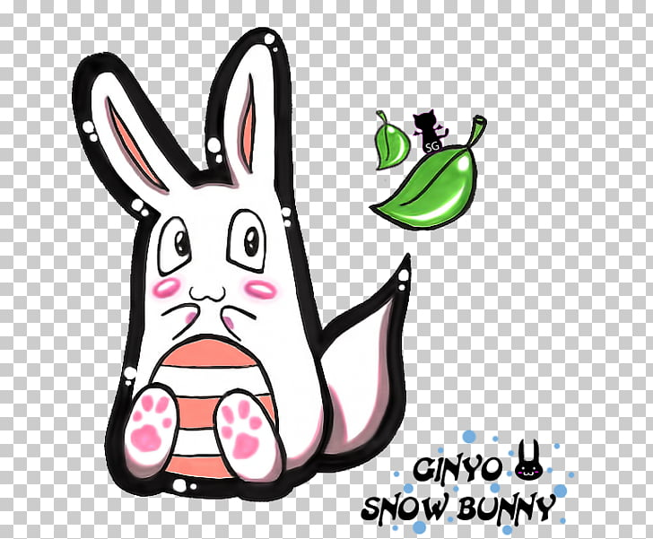 Dog Technology Cartoon , snow bunny PNG clipart.