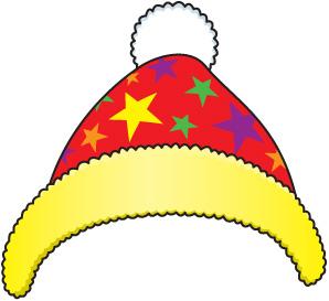 Snow hat clip art.