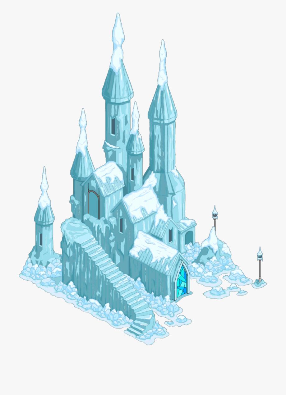 Clipart Snow Castle.