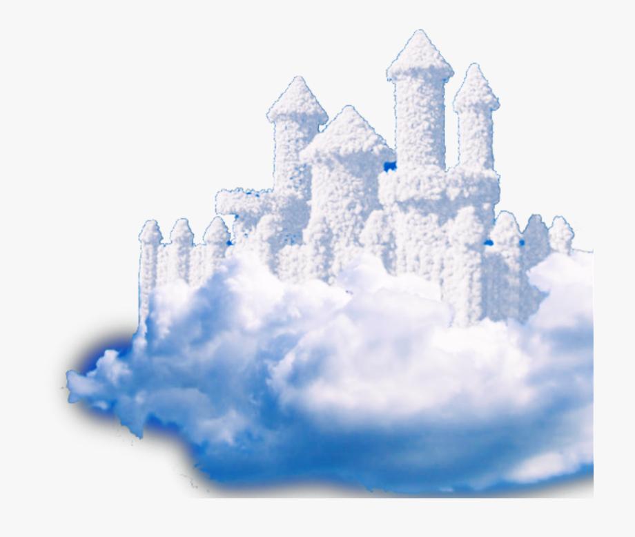 castle #clouds #fantasy #cloud #creative #heaven.