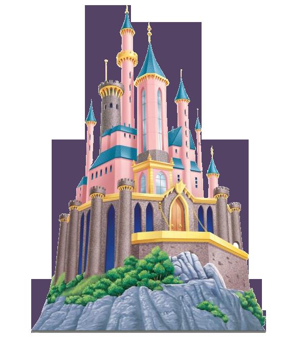 Snow White Castle Clipart.