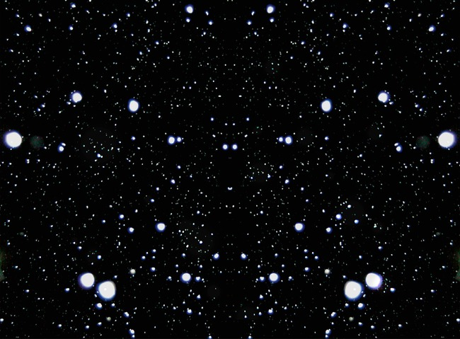 Star material effect snow PNG clipart.