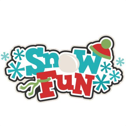 Snow Fun Clipart.